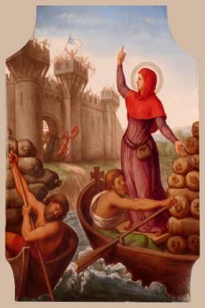 Sainte Genevieve Vierge à Paris (+ 500)