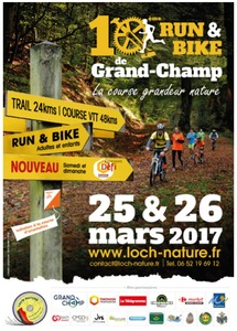 Run & Bike - Grand-Champ - Dimanche 26 mars 2017