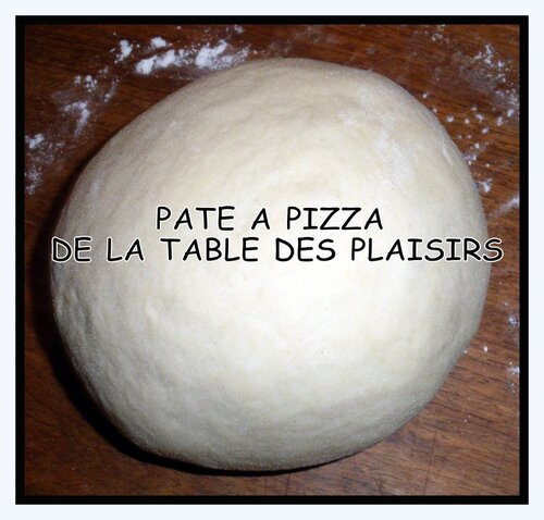 PÂTE A PIZZA