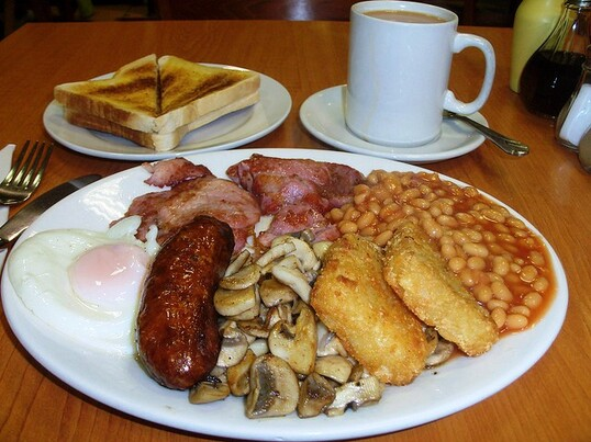 English breakfast 50 of the World's Best Breakfasts