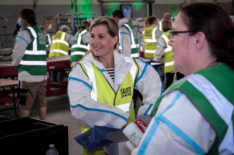 NHS frontline workers across the UK.