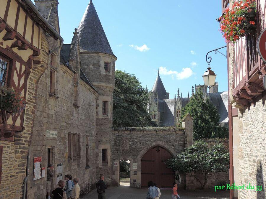 Josselin dans le Morbihan (56)