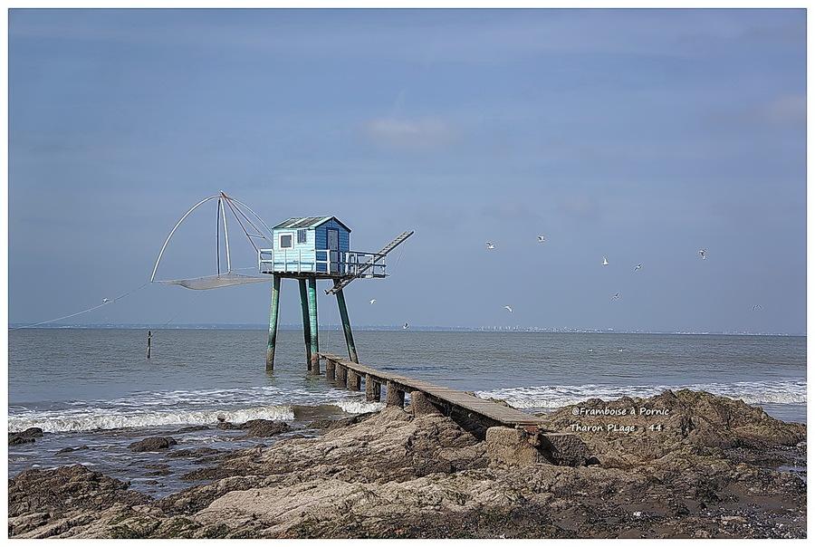 Pêcherie Tharon plage 44