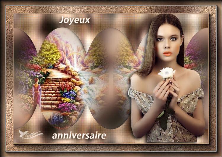 Joyeux anniversaire Janine et Sissi (poésieenhabit)