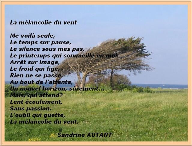 Auteur : Sandrine AUTANT