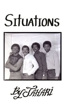 Dwight Sykes & Jahari - Situations - LP K7