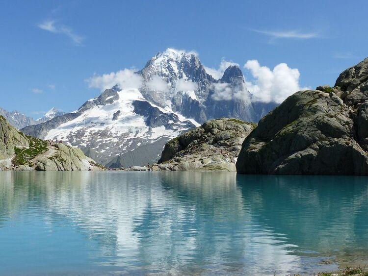 Pays du Mont Blanc - le Lac Blanc