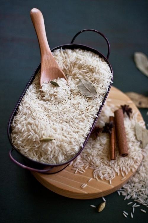 Galettes de riz.