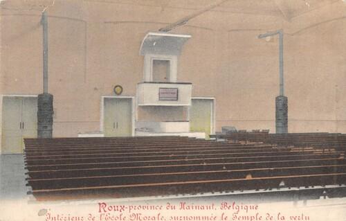 Roux - Intérieur de l'Ecole Morale. Surnommée le Temple de la vertu