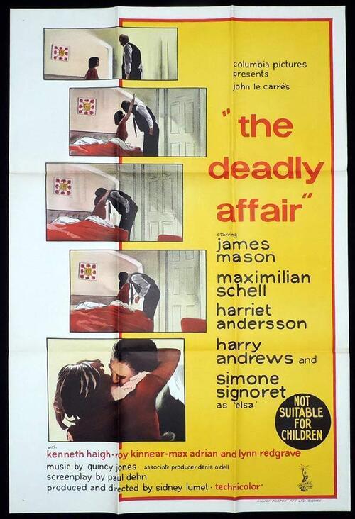 THE DEADLY AFFAIR box office usa 1967