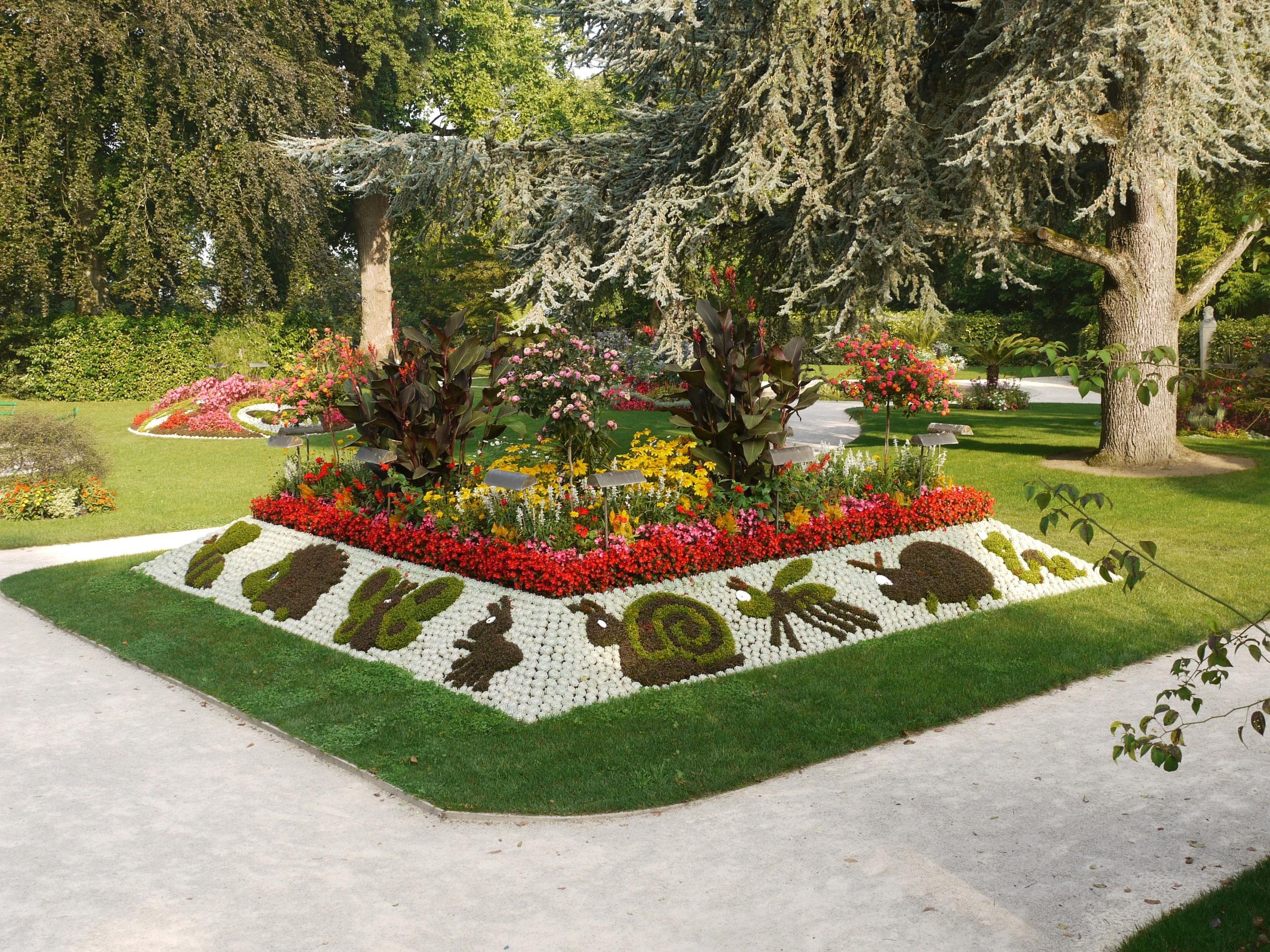 Jardin des plantes de Coutances 1 j francois