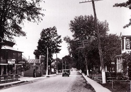 Village en 1920