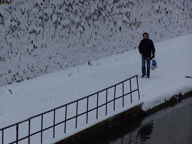 Metz sous la neige 14 Marc de Metz 06 02 2012