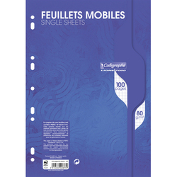 Feuillets mobiles A4.