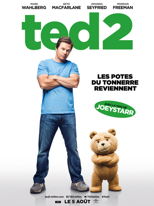"Bonsoir a l'honneur : "" Ted 2 """