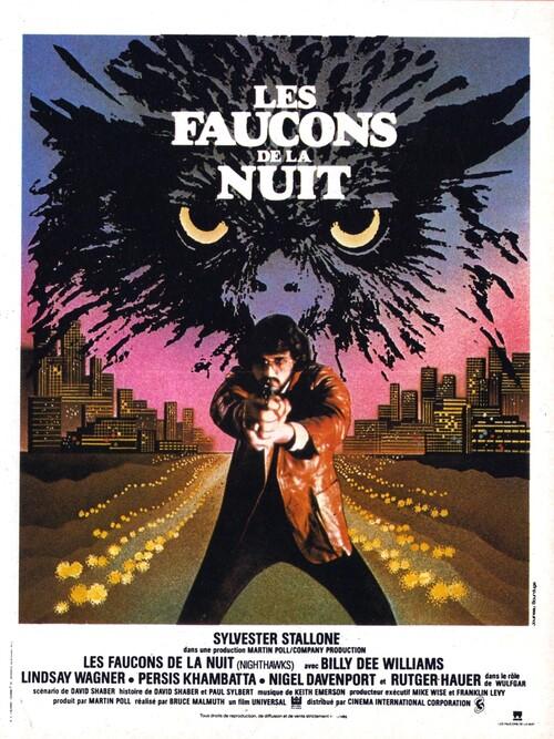 LES FAUCONS DE LA NUIT - BOX OFFICE SYLVESTER STALLONE 1981