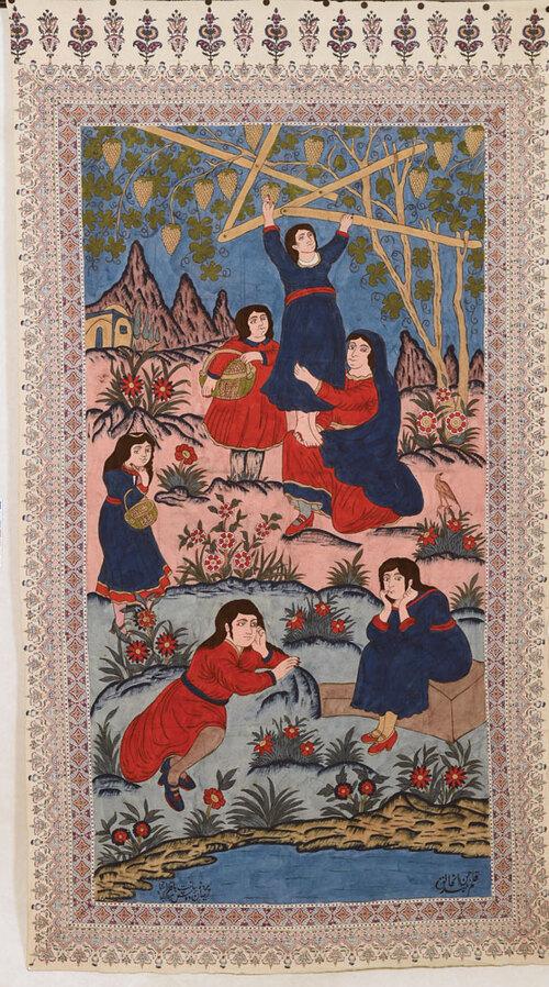 L'Art du Qalamkar d'Ispahan