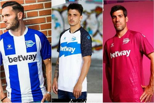 vente maillot de foot Deportivo Alavés 2019-2020