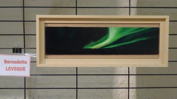 """Les peintres des Amis du châtillonnais ont réalisé de très belles huiles, acryliques et aquarelles pour l'exposition """"Voyage Polaire""""..."""