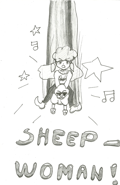 Sheep-Woman