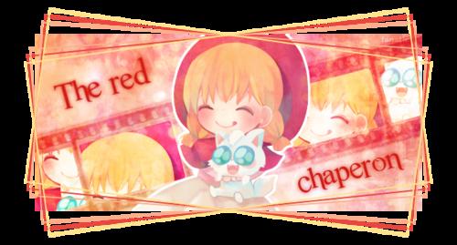 signature red chaperon