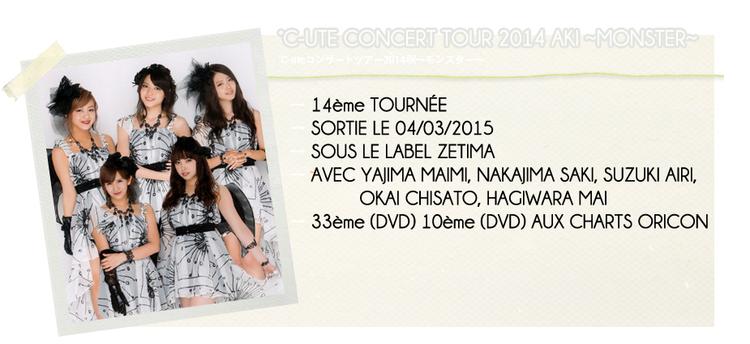 °C-UTE CONCERT TOUR 2014 AKI ~MONSTER~