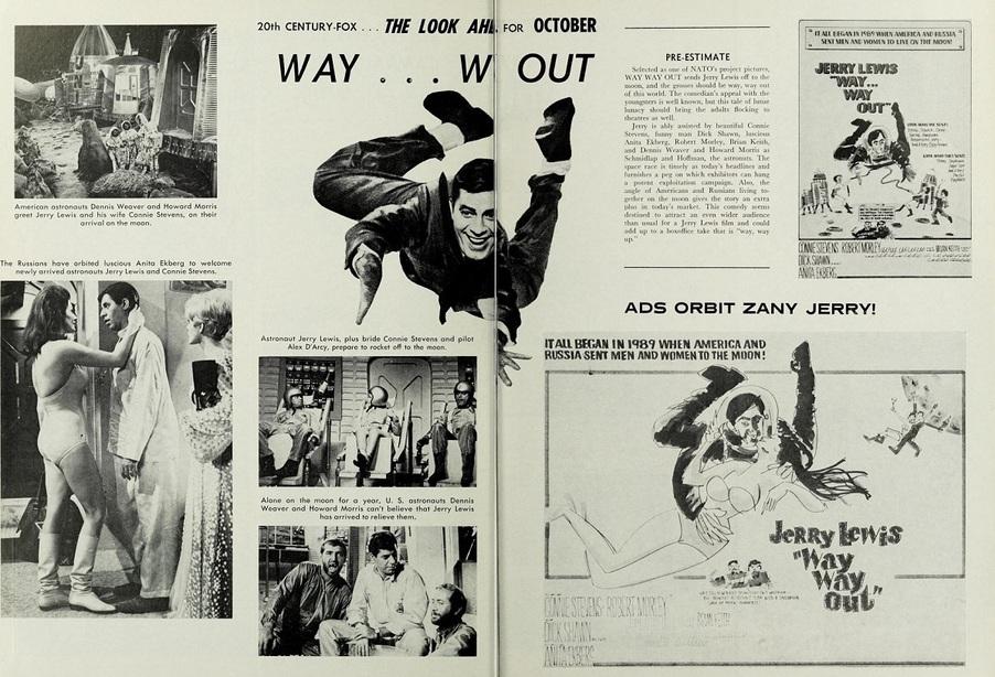 BOX OFFICE USA DU 24 OCTOBRE 1966 AU 30 OCTOBRE 1966