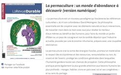 http://www.larevuedurable.com :revue suisse plus orientée recherche