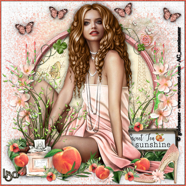 "Ma réalisation du tuto ""Peaches & dreams"""