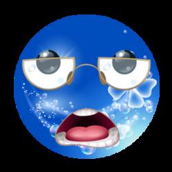 Smily Couleur Bleu