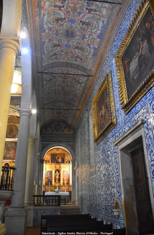 Eglise Santa Maria d'Óbidos - Portugal