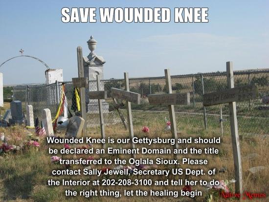 save woundeed knee