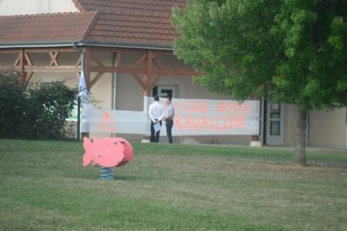 Réunion du G.I.P Montigny sur Aube
