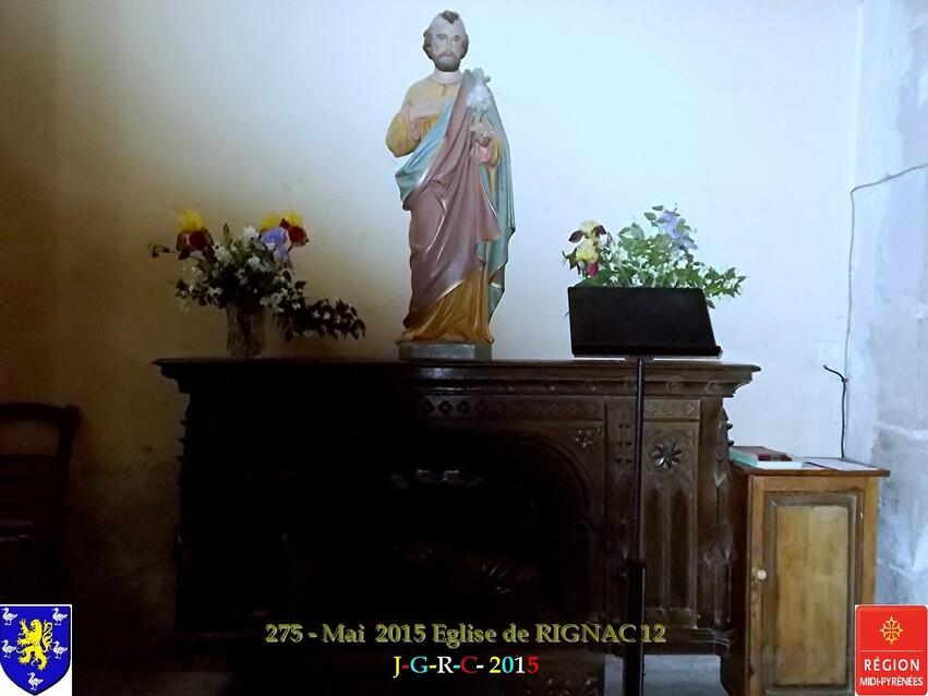 Eglise de RIGNAC  12    MAI  2015     D  17/08/2015