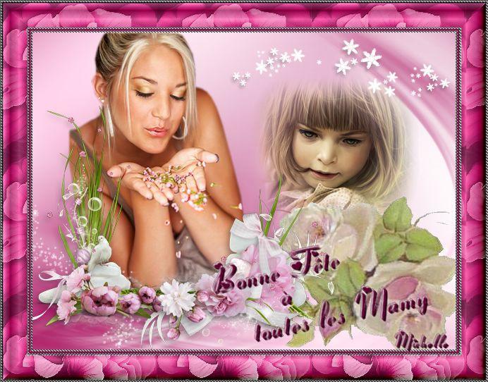 Bonne fête à toutes les Mamy