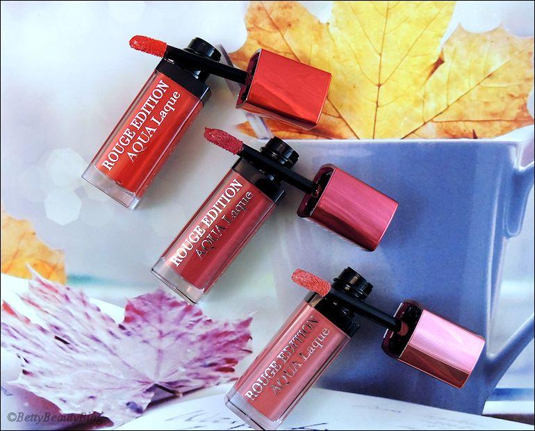 Les aqua laques de Bourjois (friday lipstick)