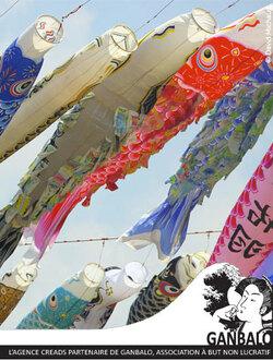 Projet KOINOBORI pour Fukushima