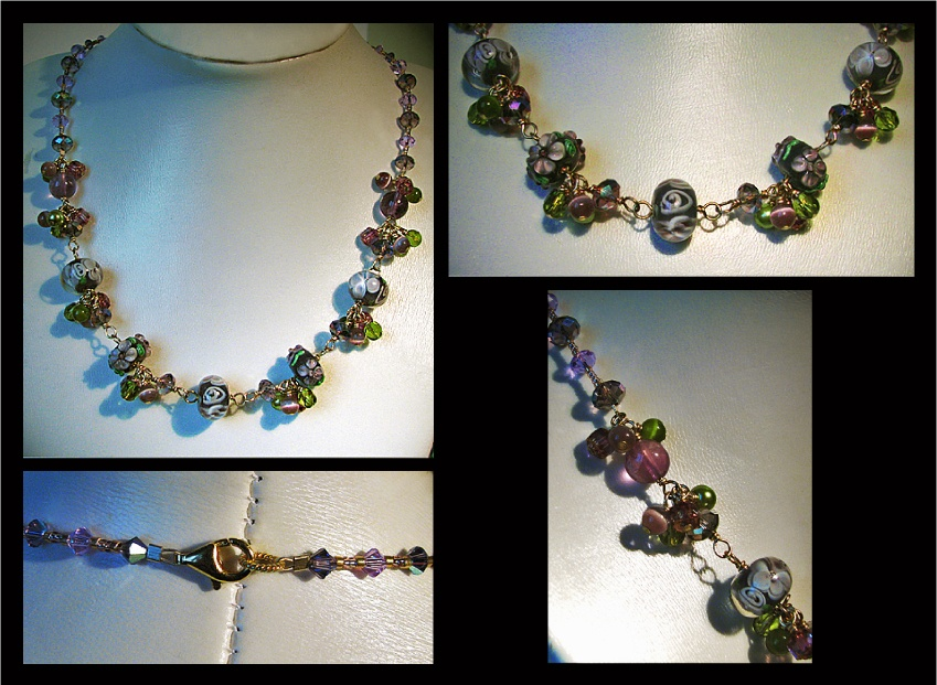 Collier Lilas