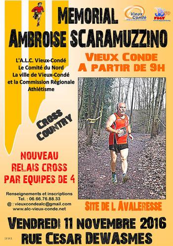 Marche et cross country, à Vieux-Condé