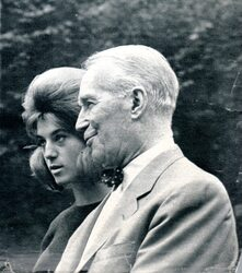 Septembre 1963 : Sheila et Maurice