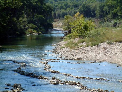 La rivière et la pêche