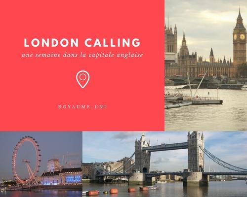 Une semaine à LONDRES