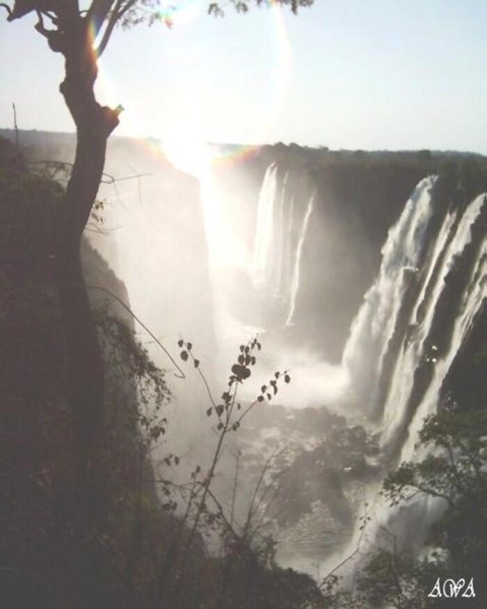 ZIMBABWE : LES CHUTES VICTORIA
