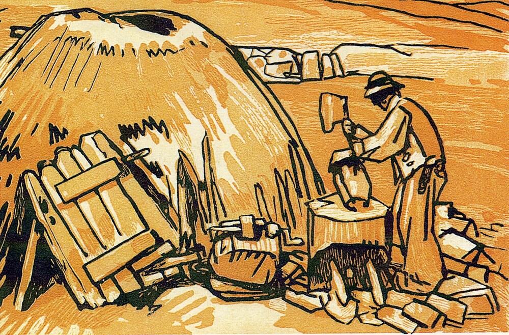Le Pouldu 2 / les sabotiers de Clohars-Carnoët