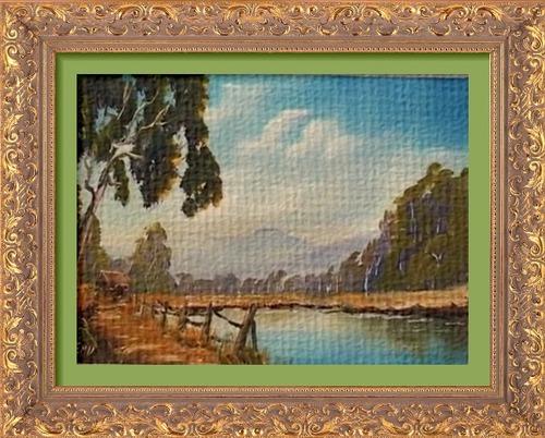 Dessin et peinture - vidéo 2504 : La cabane du pêcheur - peinture à l'huile ou acrylique.