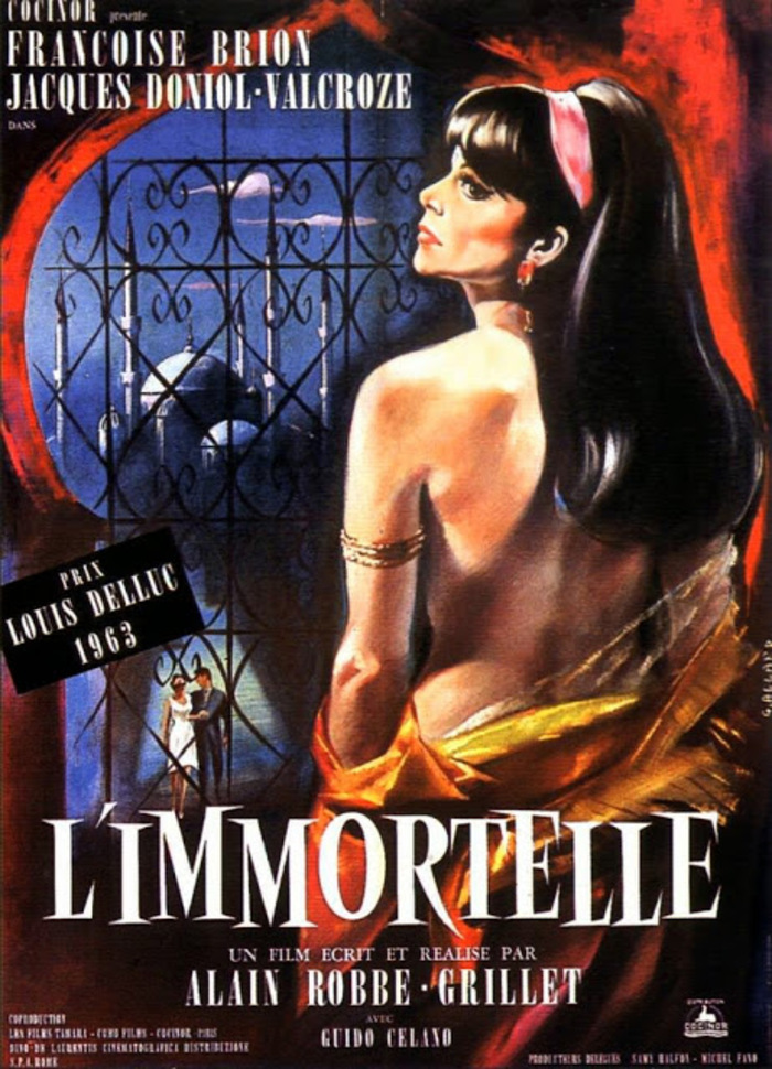 Robbe-Grillet-1963-L'immortelle