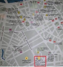 Les lieux grenoblois de l'occupation et des attentats de la Résistance