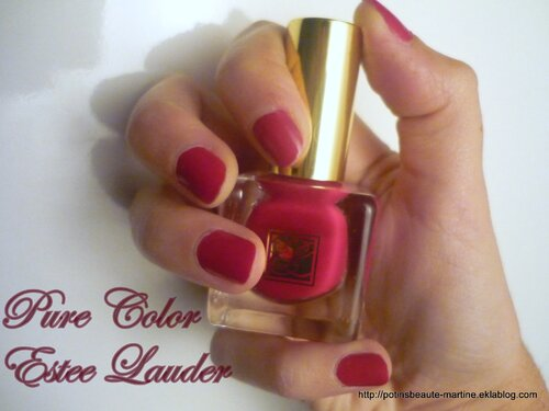 Vernis Pure Color d'Estee Lauder – la classe à Dallas !
