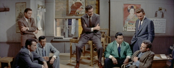 La maison de bambou, House of bamboo, Samuel Fuller, 1955