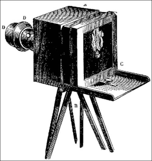 Le grand almanach de la France : L'invention de la photographie.